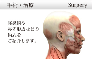 鼻の整形手術・治療