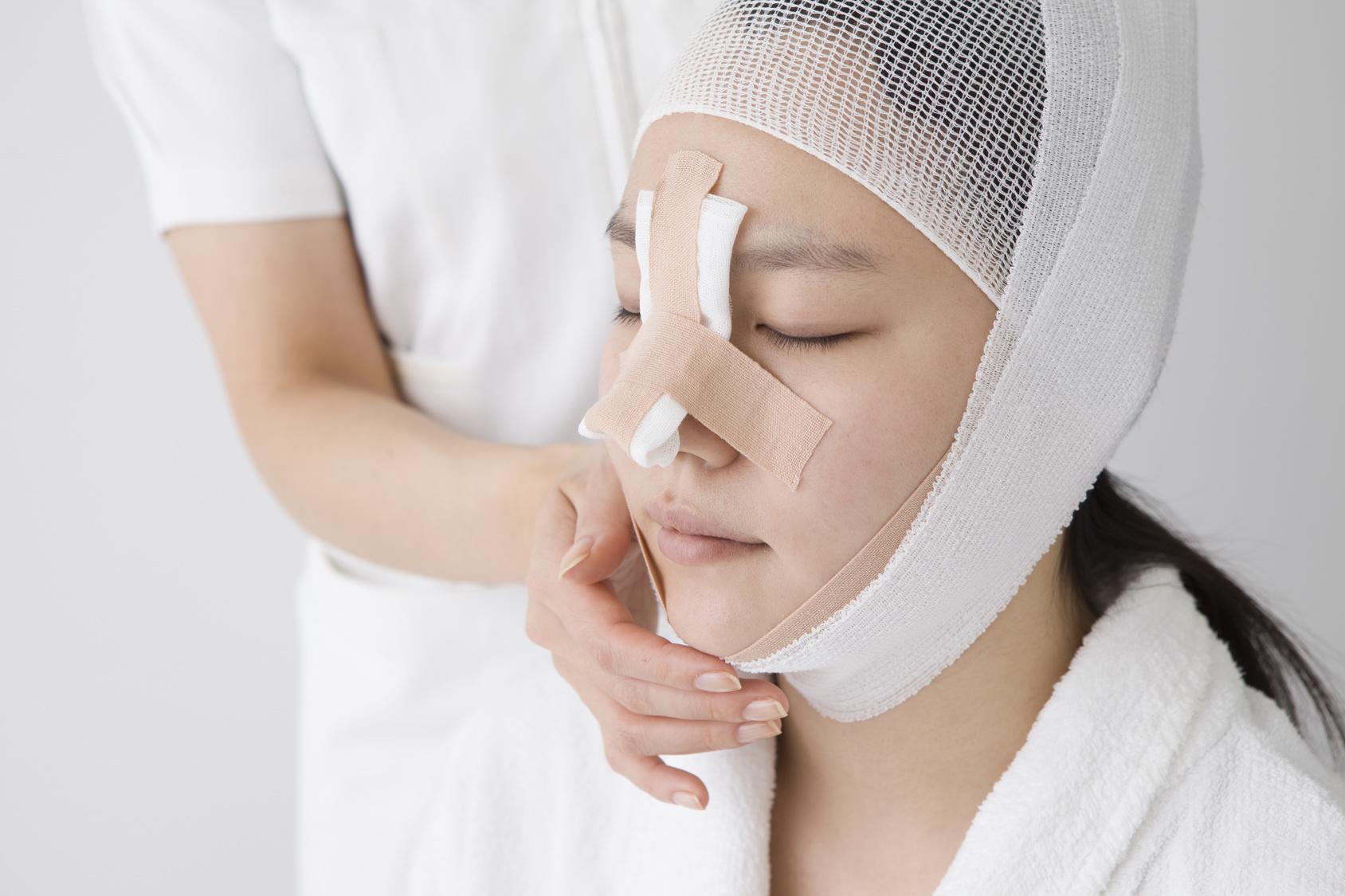 鼻 L型プロテーゼのダウンタイム
